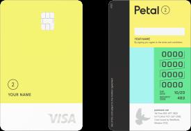 Petal® 2 Cash Back, No Fees Visa® Card