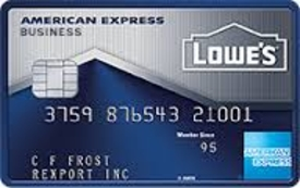 Lowe's Business Rewards Card
