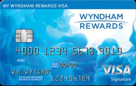 The Wyndham Rewards® Visa Signature® Card - No Annual Fee