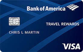 Bank of America Travel Rewards® Credit Card for Students