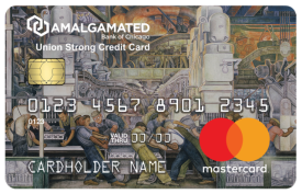 Amalgamated Bank of Chicago Union Strong Card