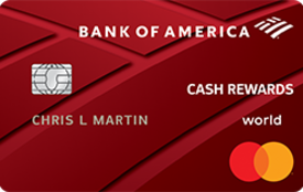 Bank of America Cash Rewards™ Credit Card for Students