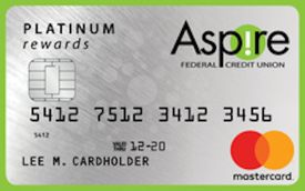 Aspire Platinum Rewards Mastercard