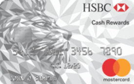 HSBC Cash Rewards Mastercard® credit card