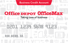 Office Depot OfficeMax Business Credit Account