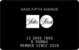 SaksFirst Store Card