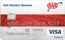 Aaa Mastercard Login >> Aaa Member Rewards Visa Signature Card Info Reviews