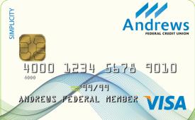 Andrews Federal Visa® Simplicity