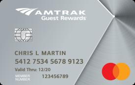 Amtrak Guest Rewards Platinum Mastercard®