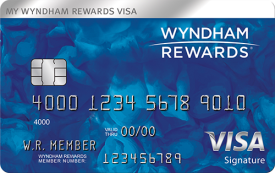 Wyndham Rewards® Visa Signature® Card - $75 Annual Fee
