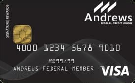 Andrews Federal Visa® Titanium Signature Credit Card