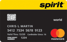 Spirit Airlines World Mastercard®