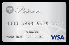 Green Dot primor® Secured Visa® Platinum Card