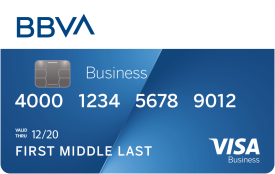 BBVA Compass Business Secured Visa Credit Card