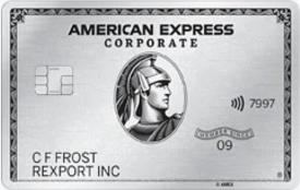 American Express® Corporate Platinum Card