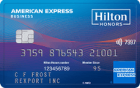 The Hilton Honors American Express Business Card