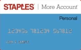 Staples More Account Personal Card