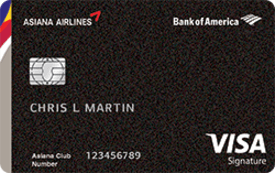 Asiana Airlines Visa® Signature Credit Card