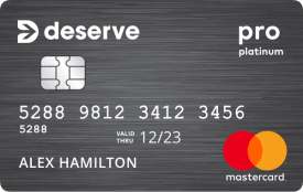 Deserve Pro Mastercard