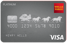 Wells Fargo Platinum Visa card