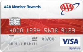 AAA Member Rewards Visa Signature® Card
