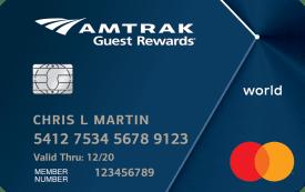 Amtrak Guest Rewards World Mastercard®