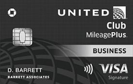 United MileagePlus® Club Business Card