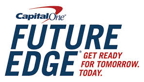 Logo for Capital One's Financial Edge financial literacy program.