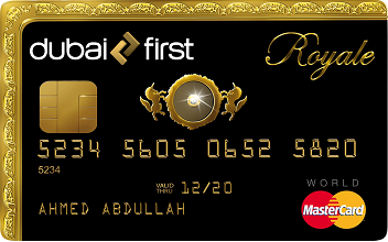 The Dubai First Royale Mastercard.