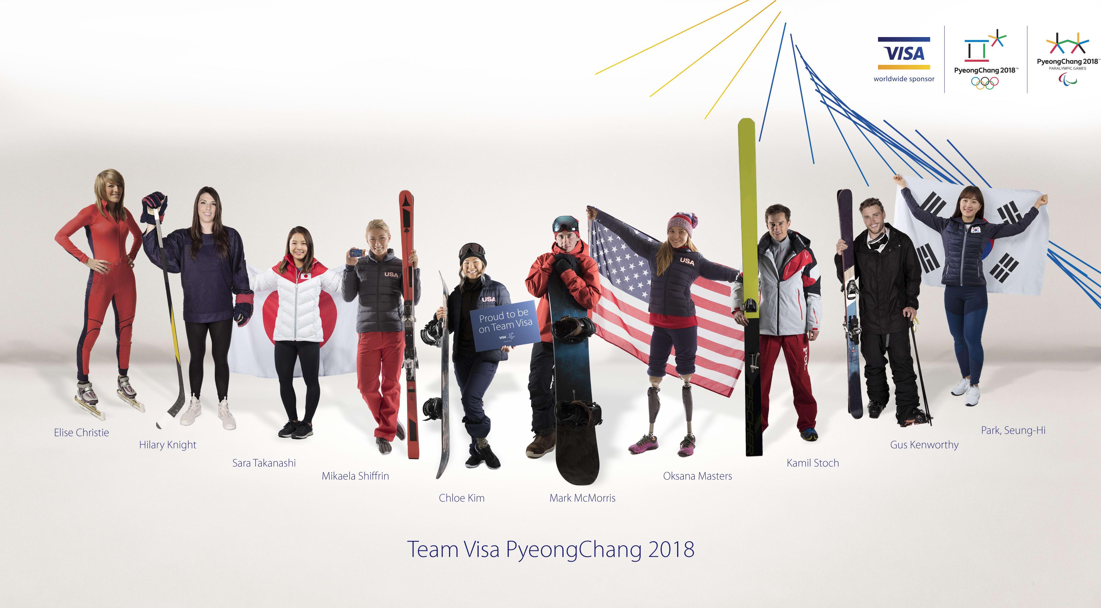 Team Visa. Image credit: Business Wire