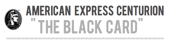Drool Over the American Express Black Card
