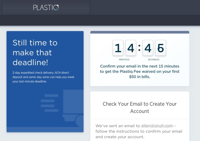 Plastiq Special Offer