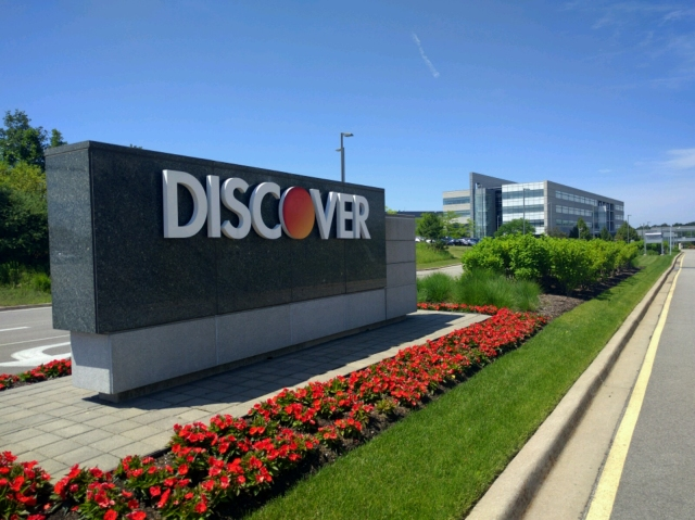 Discover Financial Services headquarters.