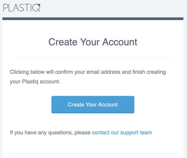 Create a Plastiq Account