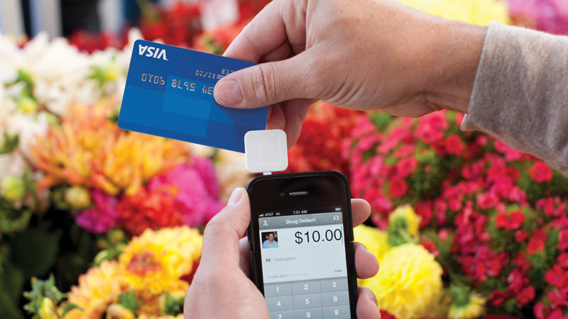 How swiping a credit card works
