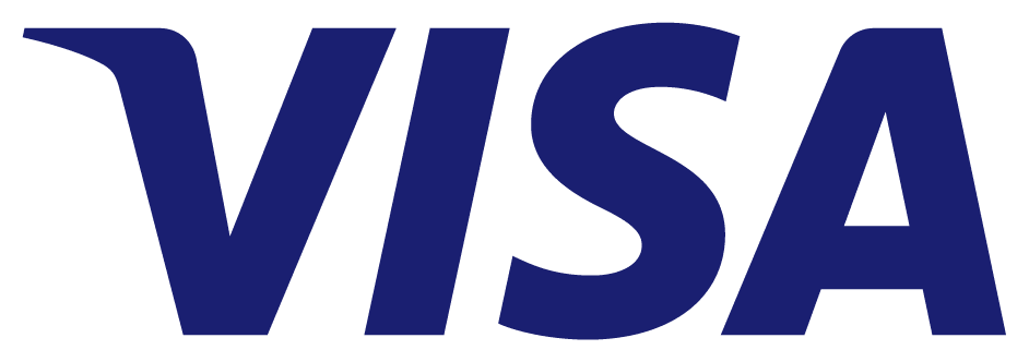 The current Visa logo, in the U.S., U.K., and some other regions.
