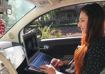 DUO porta documenti usato in auto