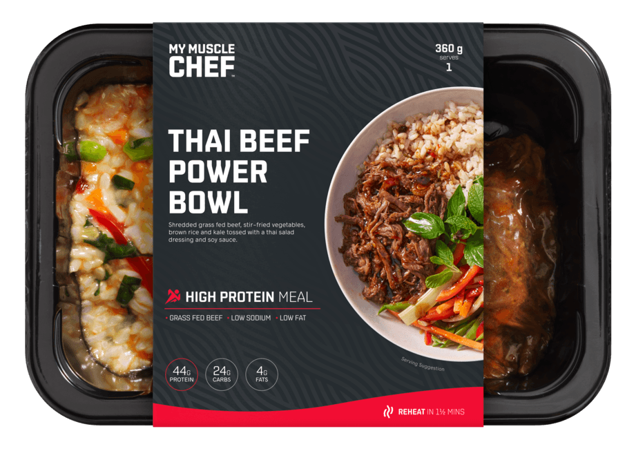 Thai Beef Superfood Power Bowl