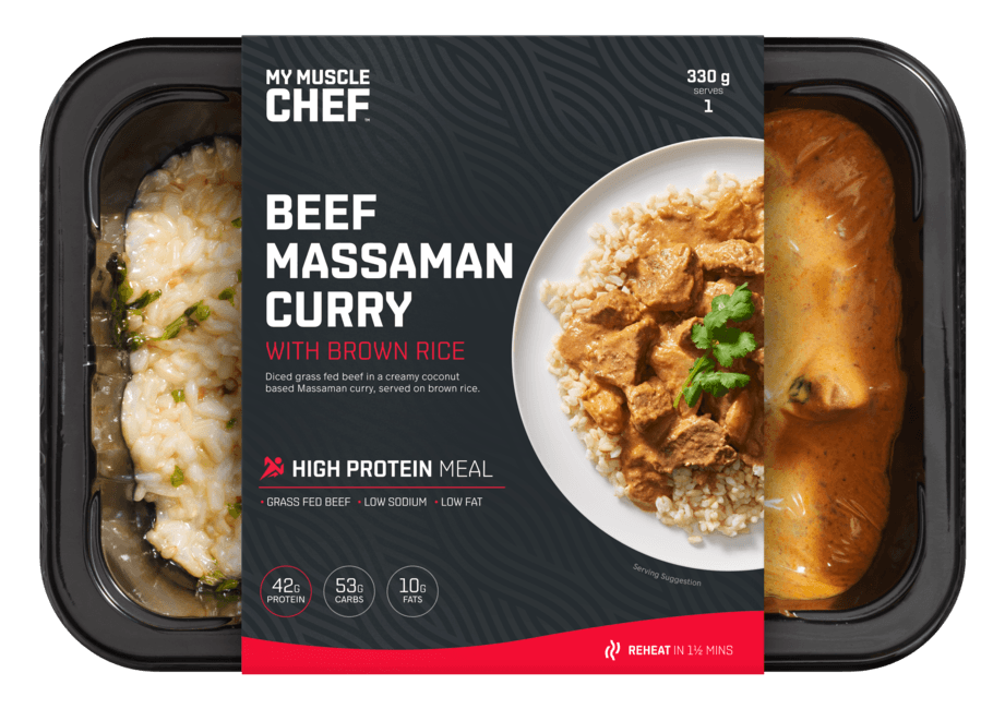 Massaman Curry with Slow Cooked Beef