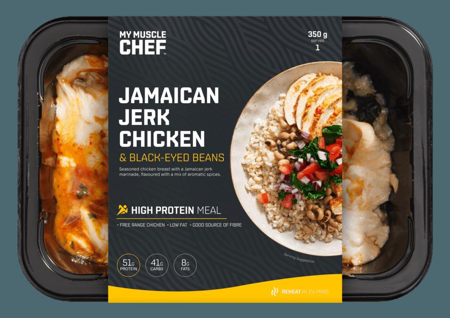 Jamaican Jerk Chicken & Black-Eyed Beans
