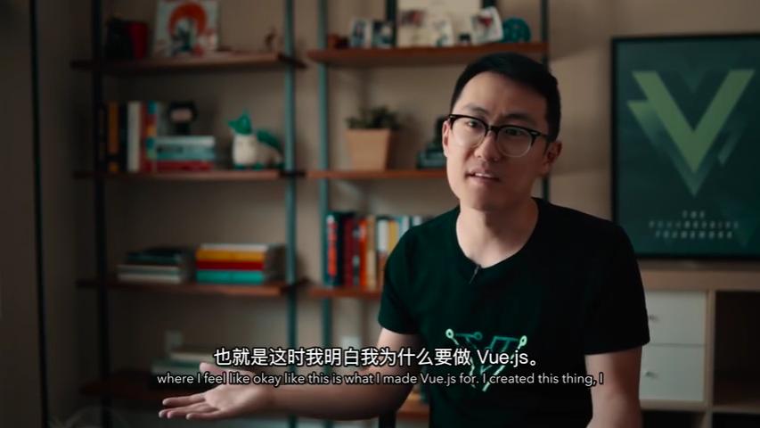 纪录片:尤雨溪创立Vue的心路历程