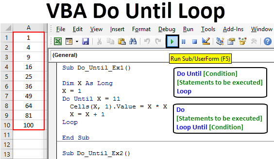 How To Use VBA Do Until Loop In Excel