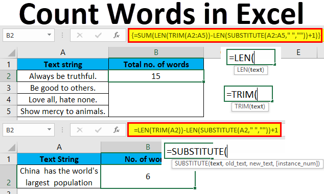 How To Use VBA Count Words In Excel