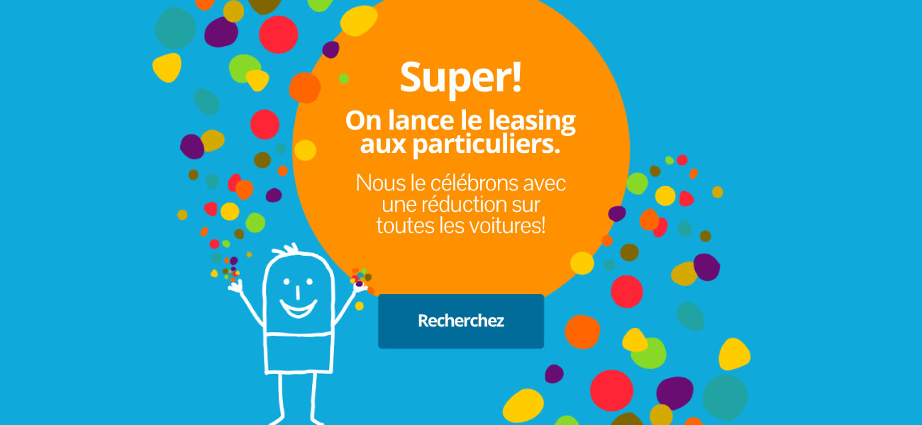 On lance le leasing aux particuliers!