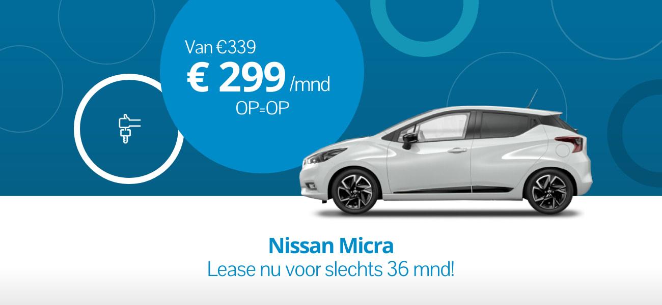 Nissan Micra Korte looptijd
