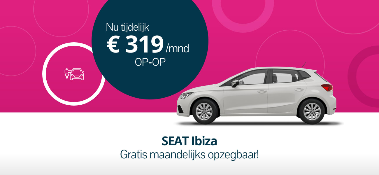SEAT Ibiza maandelijks opzegbaar leasen
