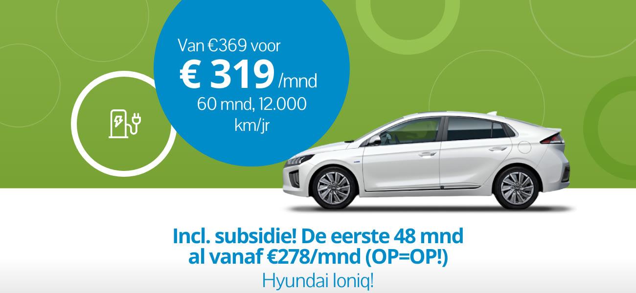 Zomerdeal OP=OP: Hyundai Ioniq