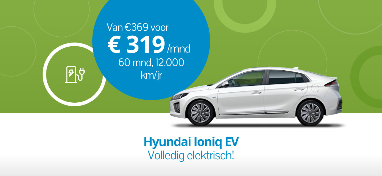 Super EV Deal: Hyundai Ioniq