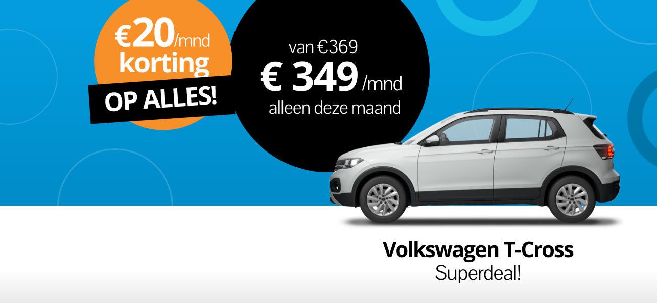 Volkswagen T-cross superdeal
