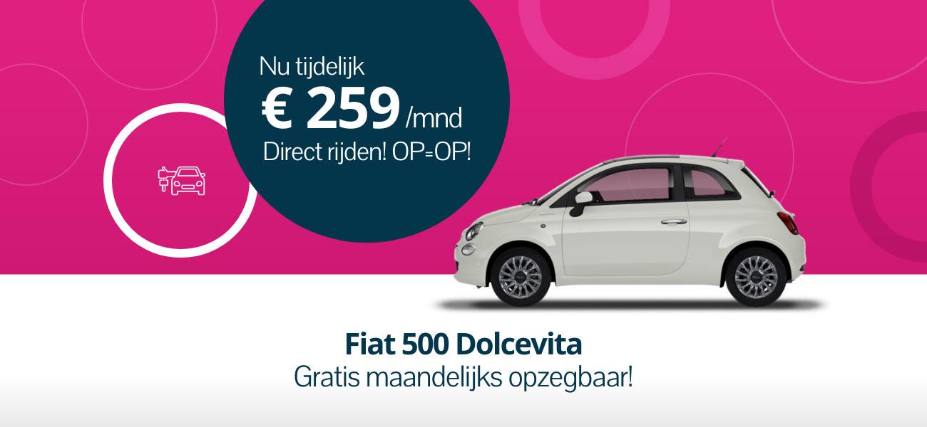Fiat 500 Dolcevita - Snel leverbaar
